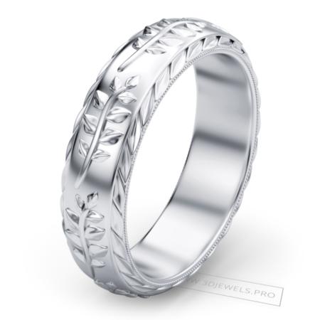 olive-leaf-band-ring-image-1