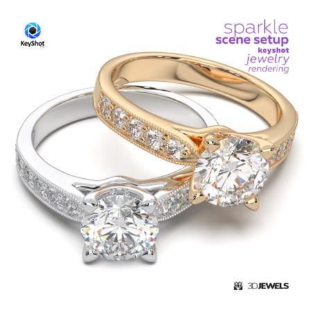 Sparkle-Scene-Setup--KeyShot-Jewelry-Rendering-IMG1-02