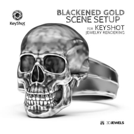 blackened-gold-scene-setup-keyshot-jewelry-rendering-IMG01